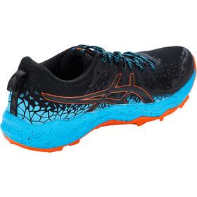 asics Fuji Trabuco Lyte Shoes Men, black/digital aqua